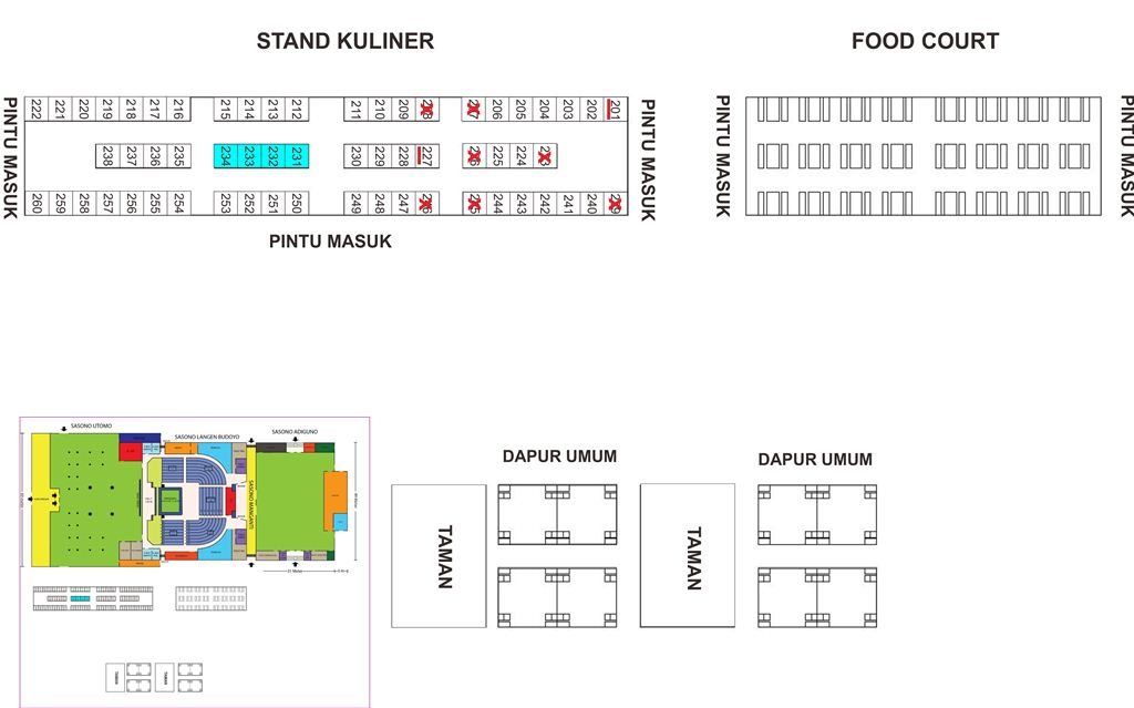 Stand Kuliner PW 2015