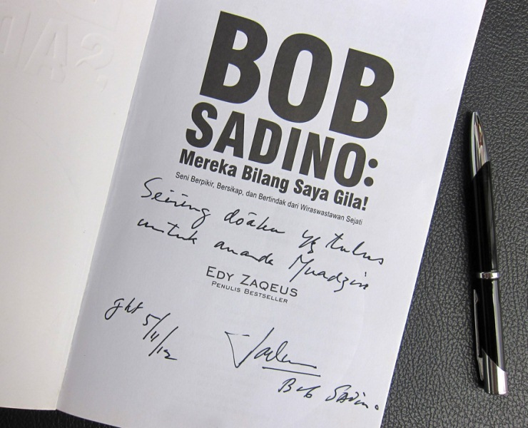 Buku Bob Sadino