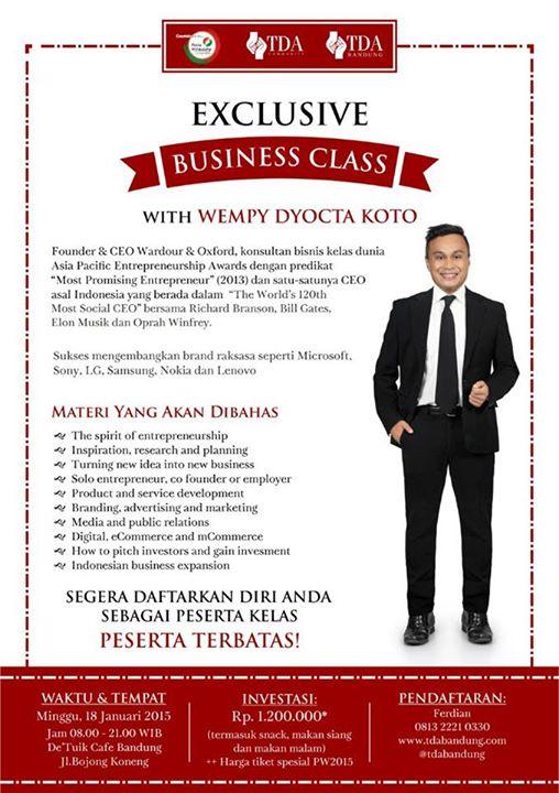 TDA Bandung Forum