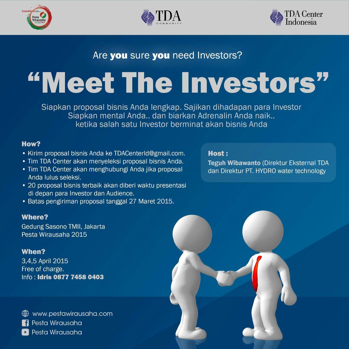 Meet investor