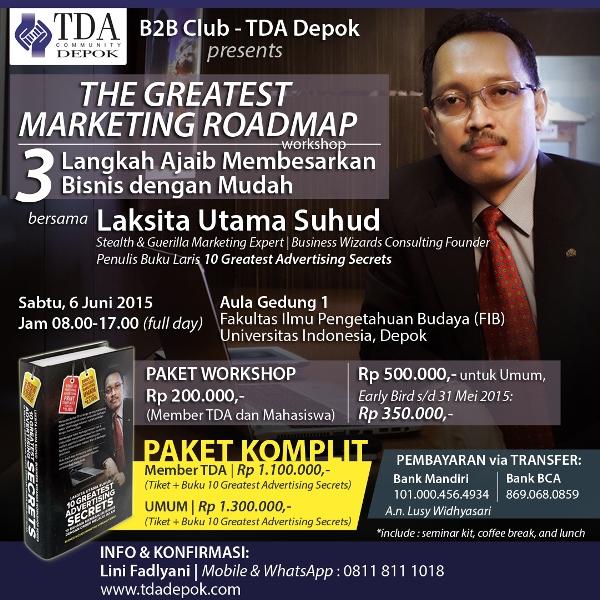 Workshop TDA Depok Laksita