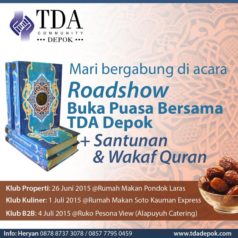 1-Juli-2015-Roadshow-Buka-Puasa-Bersama-TDA-Depok-Forum