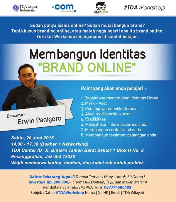 Membangun identitas brand online