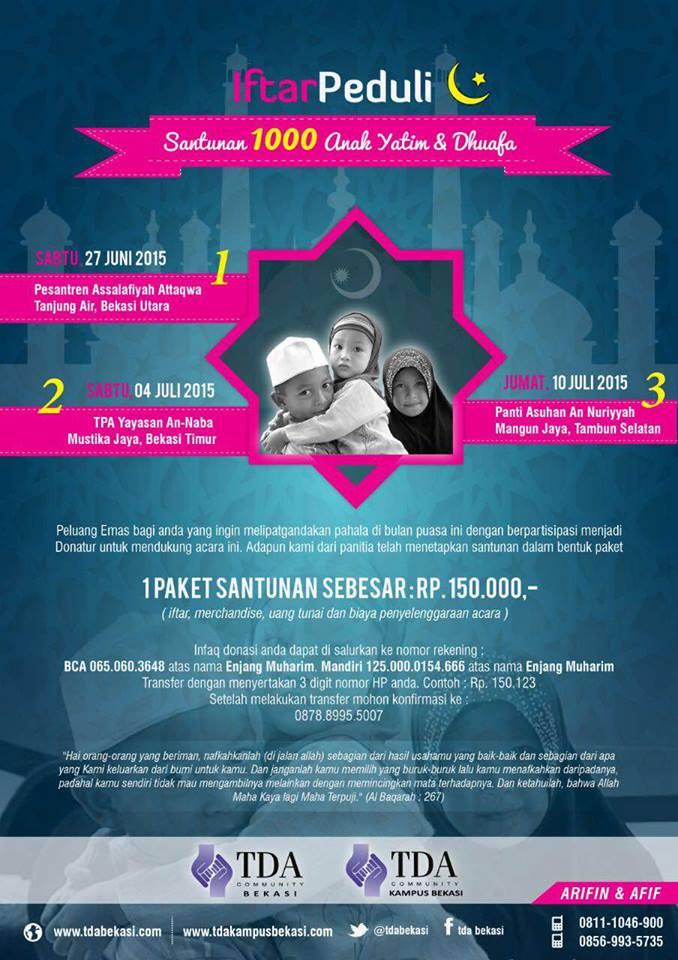 TDABekasi-iftar-peduli
