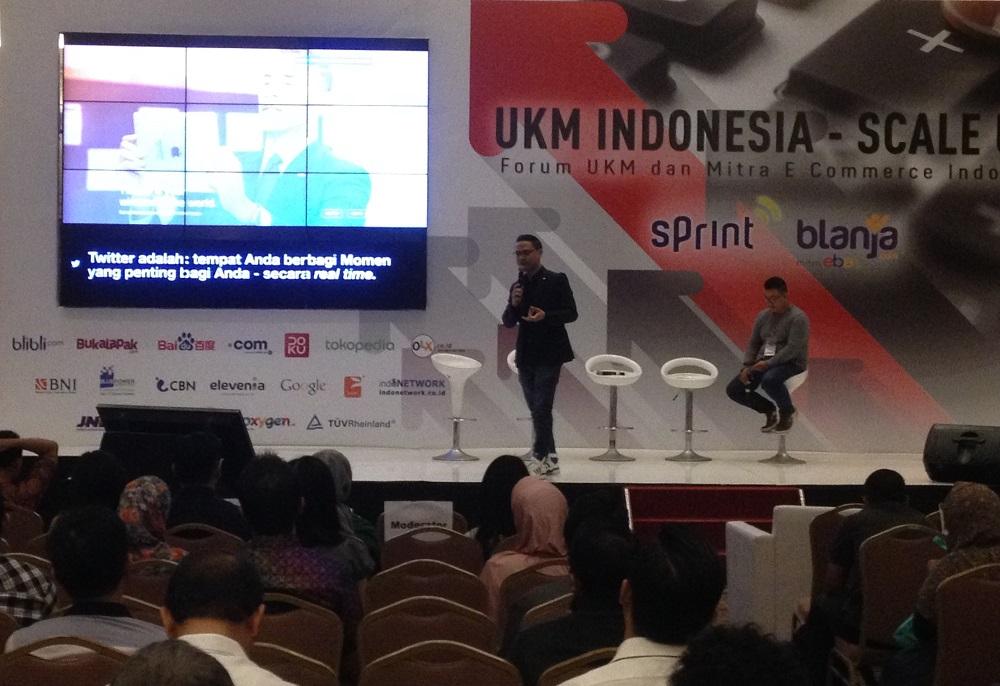 UKM Indonesia Scale Up Seminar IDEA (Indonesia E-Commerce Association)