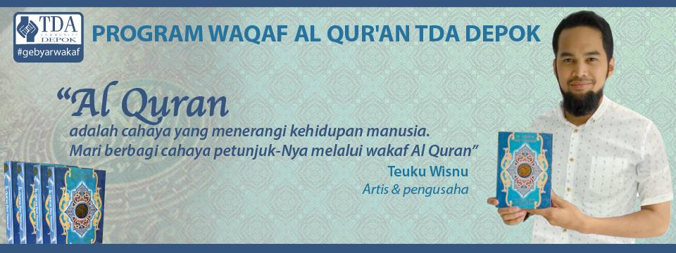 wakafQuran webTDADepok_psd