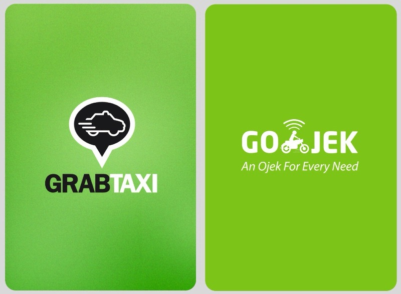 Grab Taxi vs Gojek