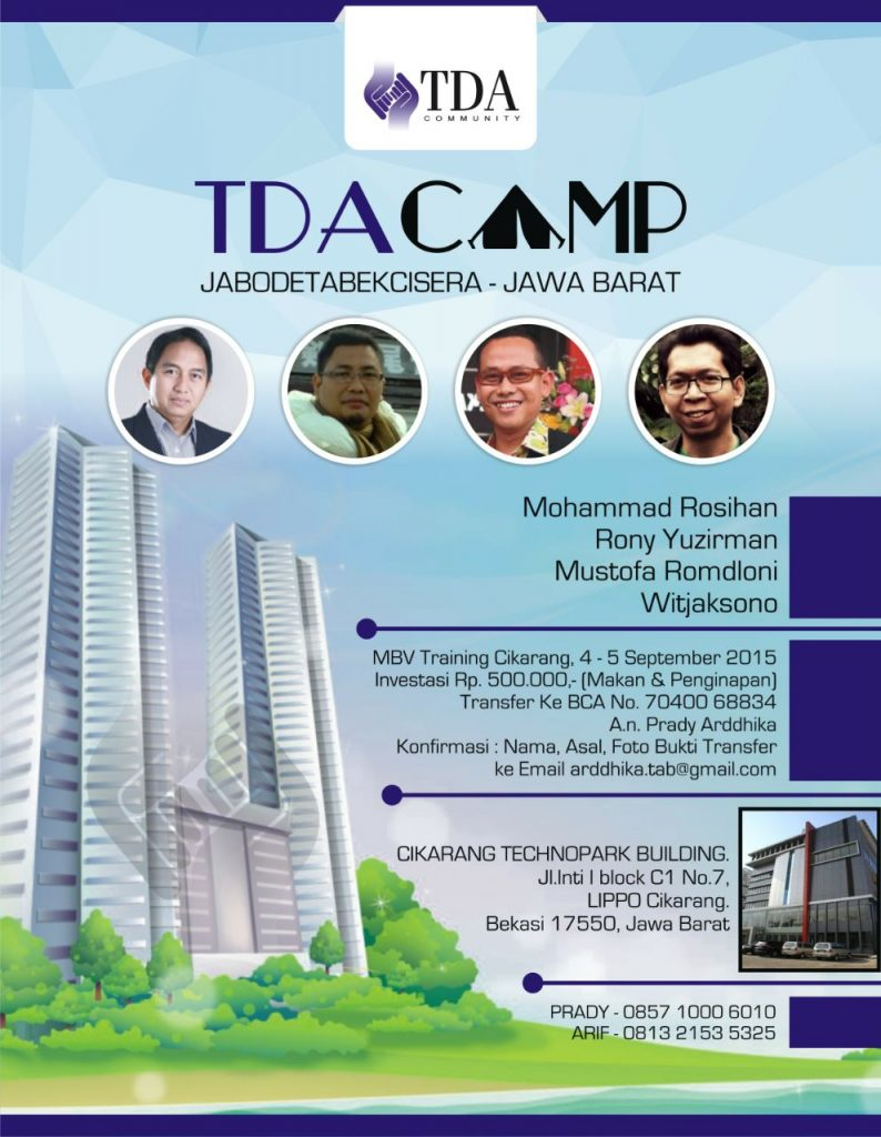 TDA Camp Jabodetabekcisera