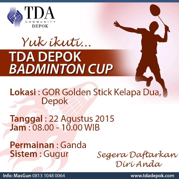 badminton TDA Depok-square