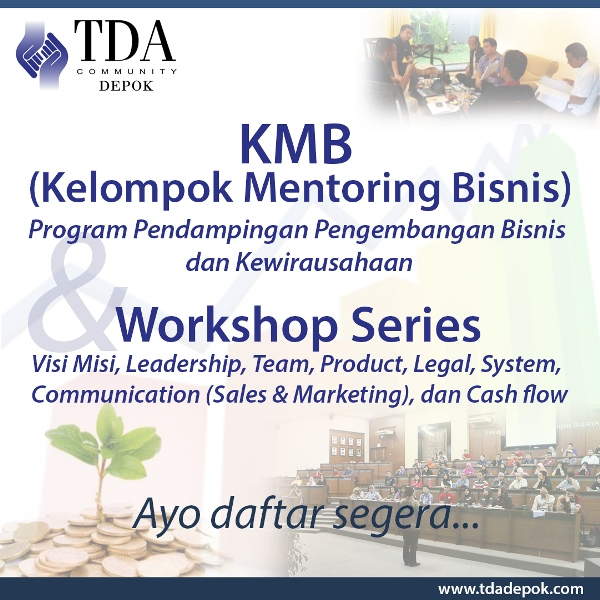 KMB & workshop series TDA Depok-square