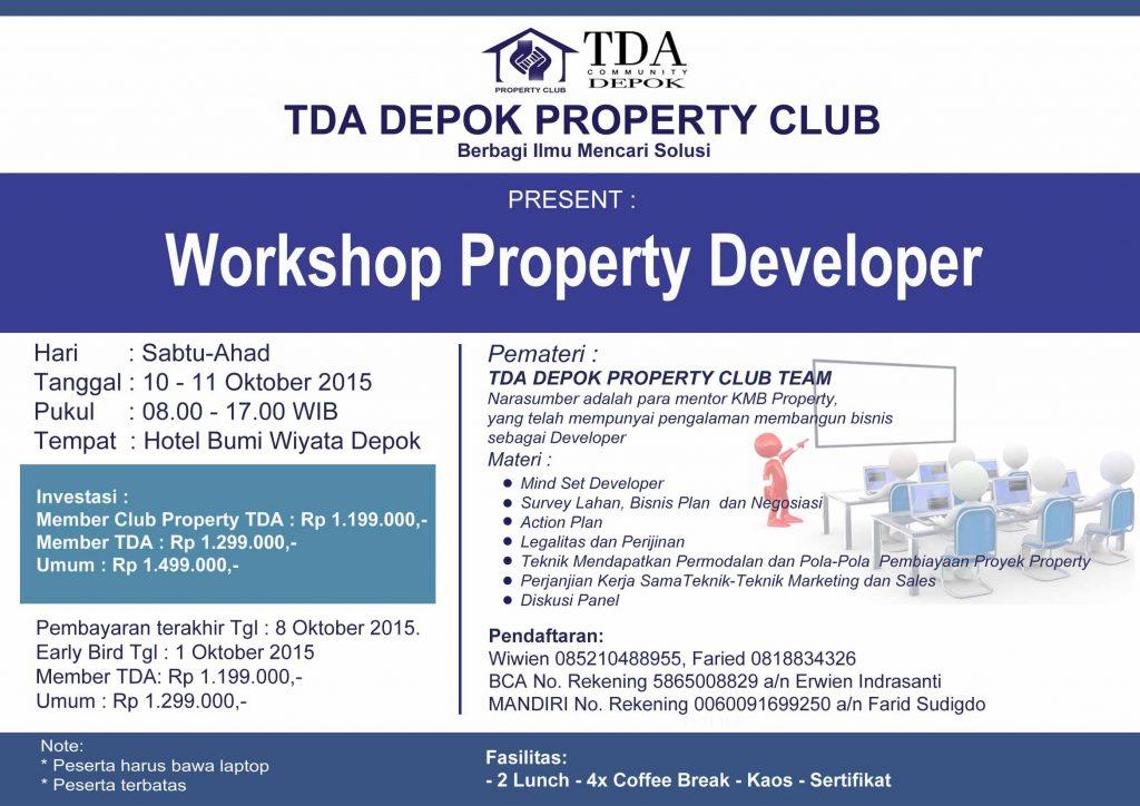 WShop Property TDA Depok