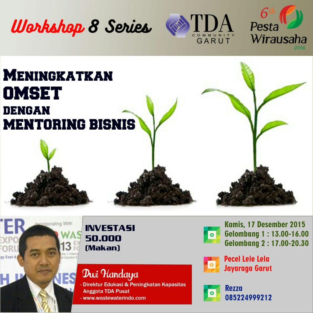 Workshop series TDA Garut