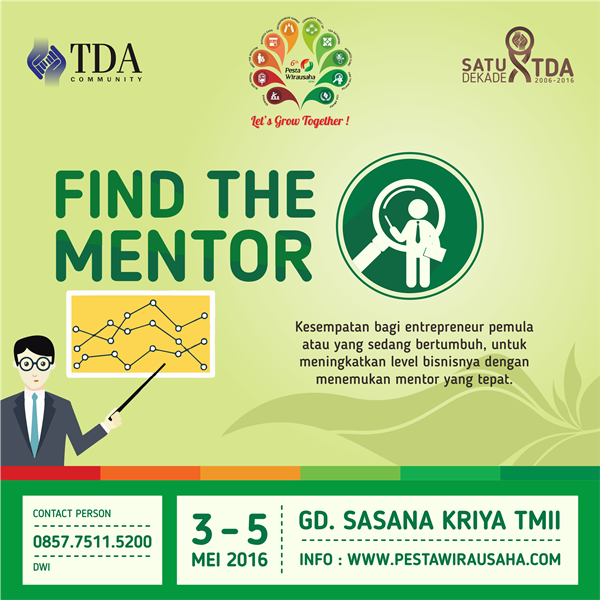 find the mentor PW 2016