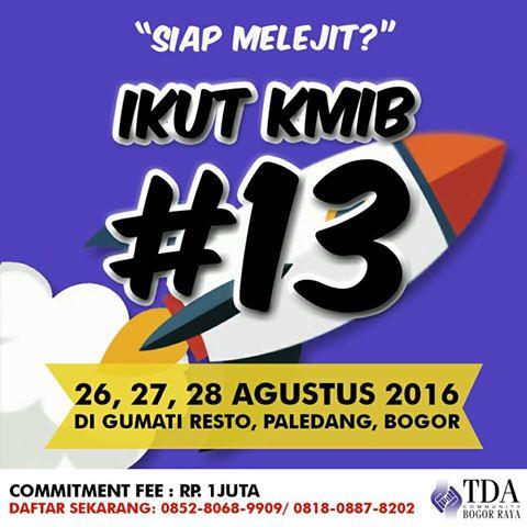 kmib13 TDA Bogor