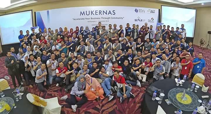 Press Release : Musyawarah Kerja Nasional (Mukernas) II Komunitas Tangan Di Atas (TDA) 2018 di Balikpapan