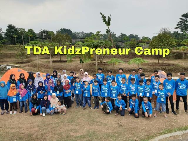 TDA KidzPreneur Camp : Saat Anak Berlatih Wirausaha