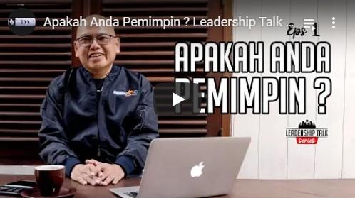 Responsibility Principle – Leadership Talk Eps 2 with Fauzi Rachmanto | TDA TV