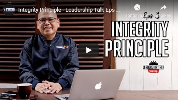 Integrity Principle – Leadership Talk Eps 3 with Fauzi Rachmanto | TDA TV