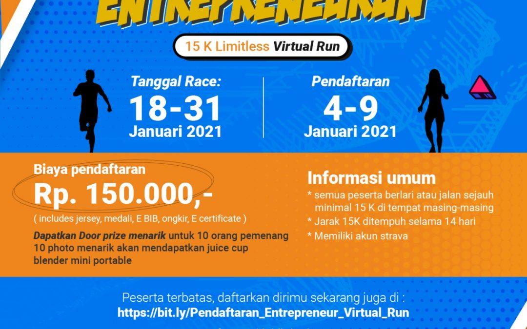 Virtual Run: Entrepreneurun 15K