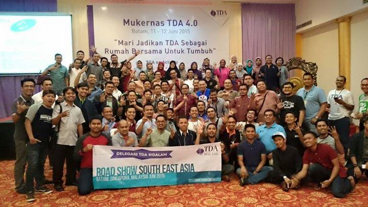Mukernas TDA 4.0 Batam Tonggak Strategis untuk Wujudkan '3 on'