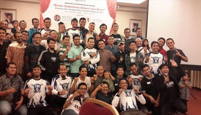"Liputan TDA Bandung ""Bisnis Sederhana Omzet Luar Biasa"""