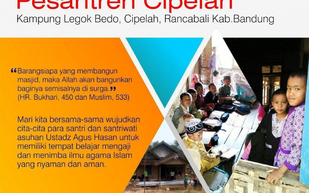 Bersama Membangun Pesantren Cipelah – TDA Bandung