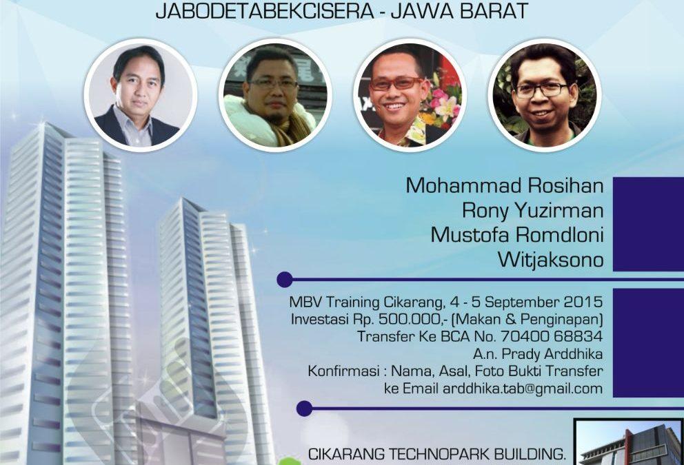 4-5 September 2015 TDA Camp JaBodeTaBek, CiSera & Jabar