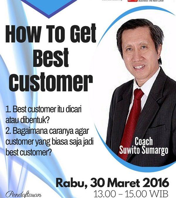 30 Maret 2016 Bincang Bisnis 'How to Get Best Customer' – TDA Surabaya Forum