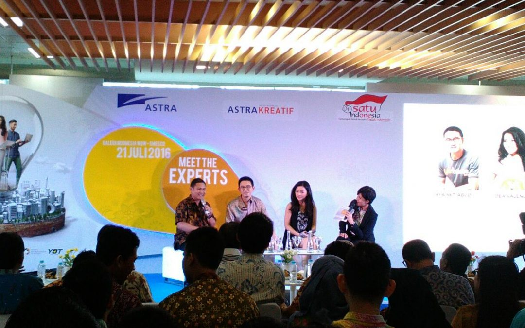 Liputan Acara Kick off Astra Startup Challenge (ASC)