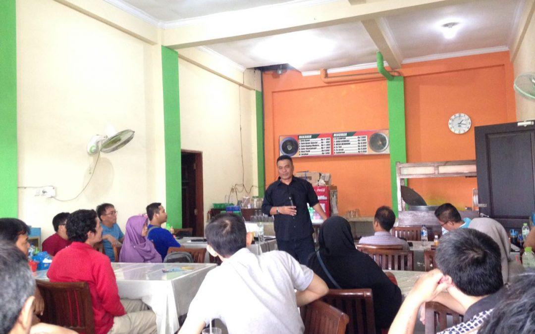 Liputan TDA Surabaya Cangkruk 'Strategi Mengembangkan Cabang'