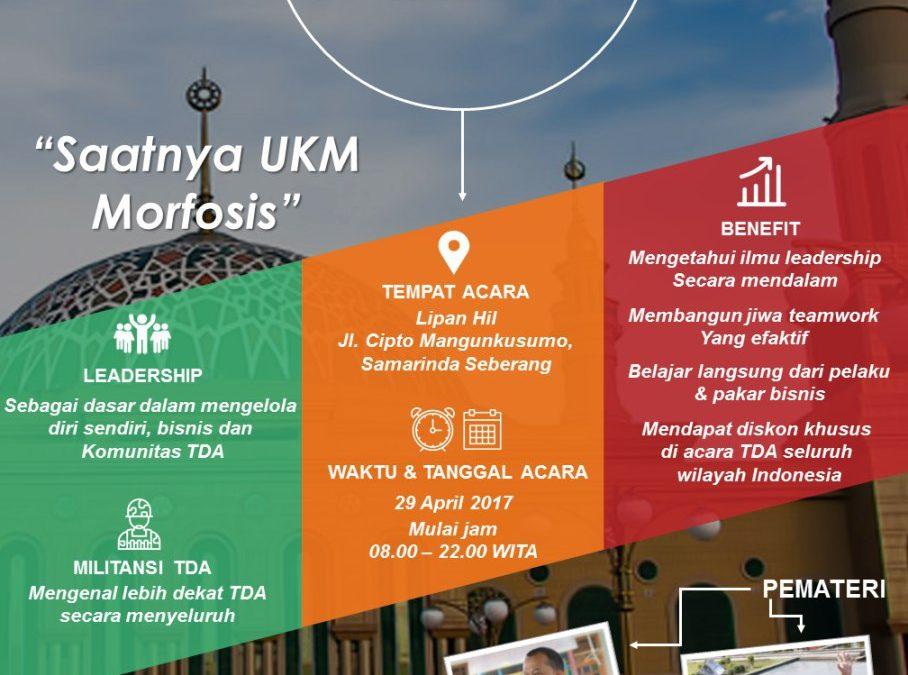 TDA CAMP 1 Hari – TDA Samarinda Forum (29 April 2017)