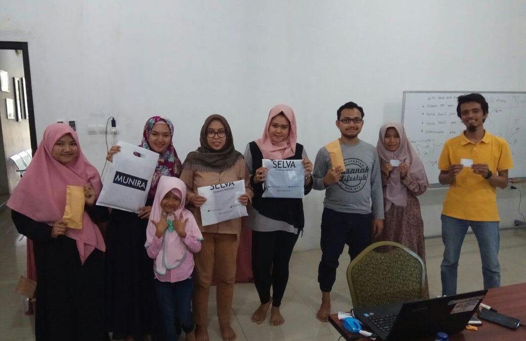 TDA Depok Workshop Instagram dan Facebook ADS Hajatan Club Fashion
