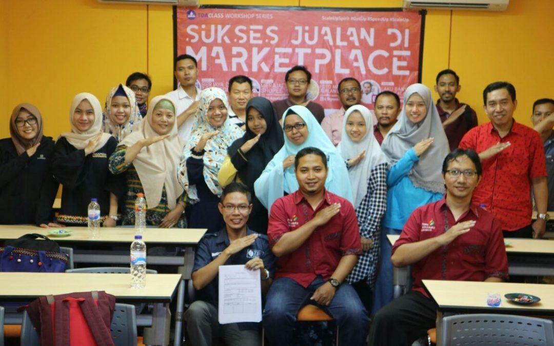 "TDA Class Surabaya – Workshop Series ""Sukses Jualan di Marketplace: Laku Banyak di Bukalapak"" by Ade Fyrman"