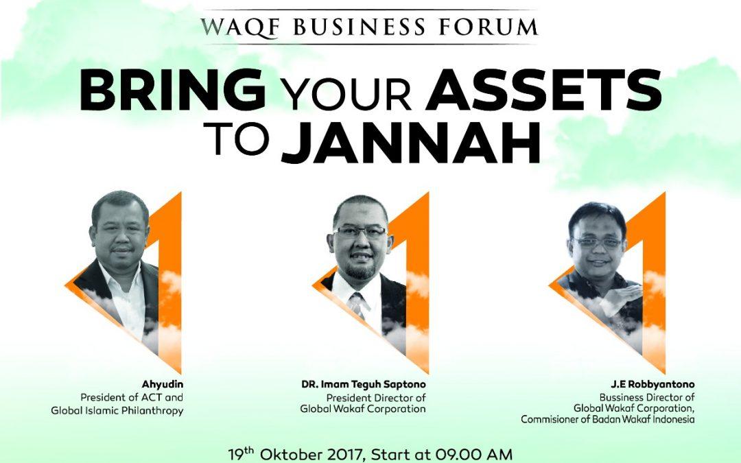 Waqf Business Forum Komunitas Tangan Di Atas & ACT