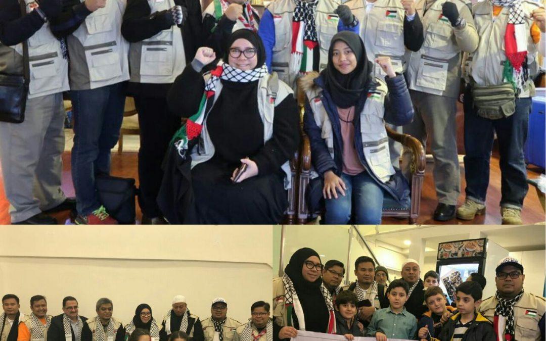 Day #1 :  Duta Kemanusiaan Indonesia bersama TDA