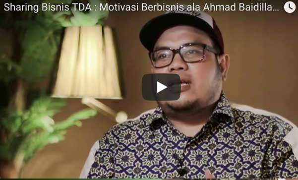TDA Business Sharing : Ahmad Baidillah Thariq Barra di TDA Digital TV