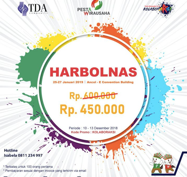 HARBOLNAS Untuk Pesta Wirausaha 2019!