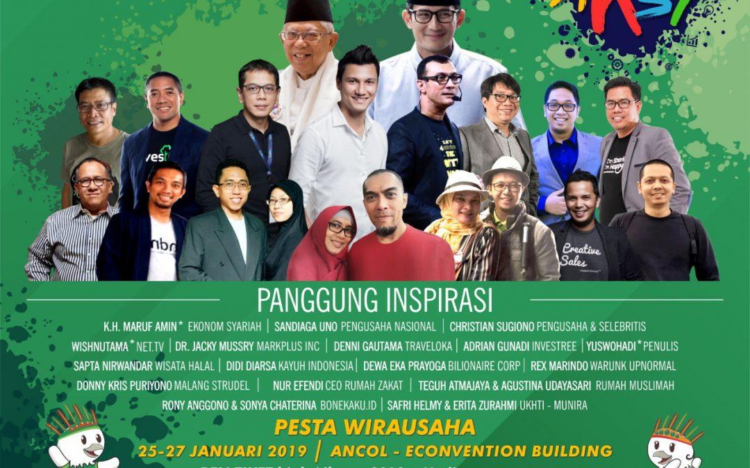 Para Pembicara Pesta Wirausaha Nasional 2019