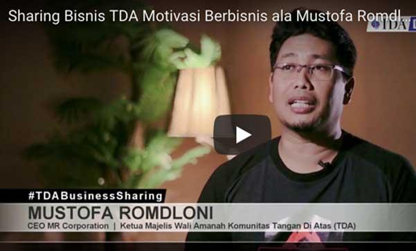 Sharing Bisnis ala Mustofa Romdloni