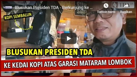 Berkunjung ke Kedai Kopi Atas Garasi Mataram | TDA TV