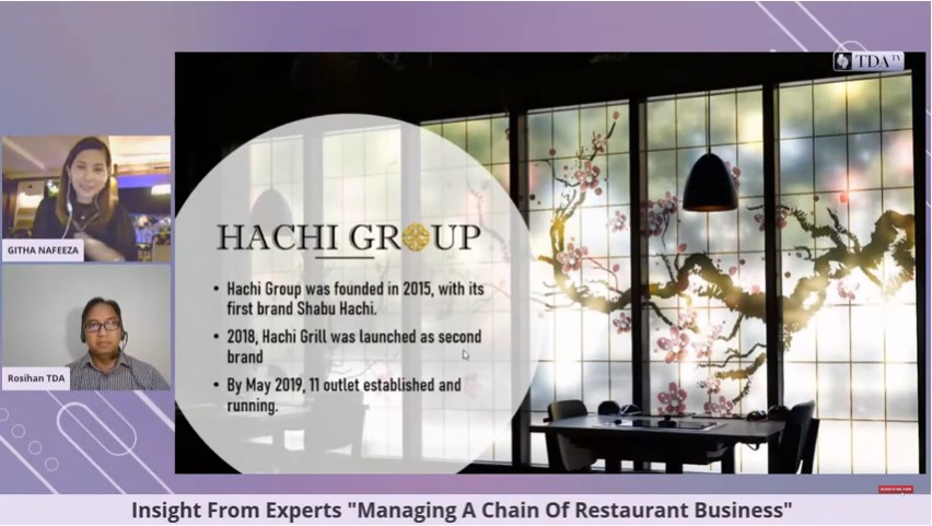 Mengelola Banyak Resto, Pikiran Tetap Waras – Githa Nafeeza (Founder Hachi Group)