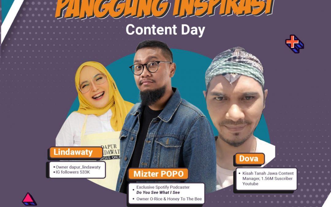 Panggung Inspirasi: Content Day