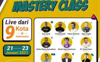 Kelas Mastery dari 9 kota di Tanah Air